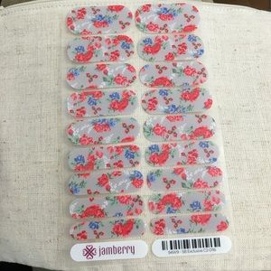 FLASHSALE 🎉Floral SB Exclusive Jamberry Nail Wrap